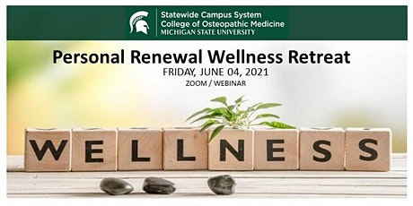 Personal Renewal Wellness Conference tickets