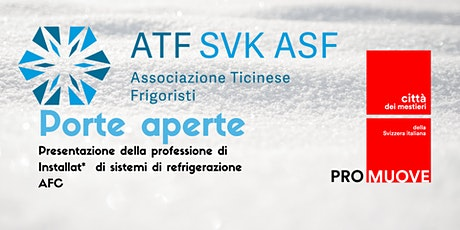 Presentazione della professione di  Installat* di sistemi di refrigerazione biglietti