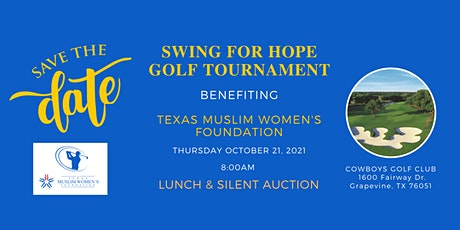 Swing for Hope Golf Tournament tickets