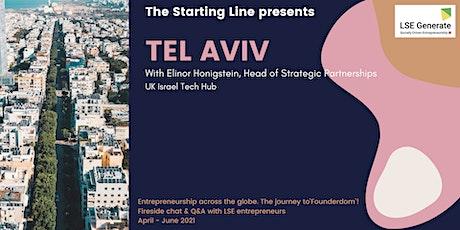 The Starting Line Series -  Elinor Honigstein, Tel Aviv tickets