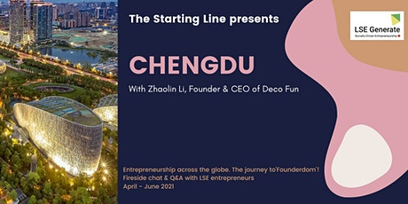 The Starting Line Series -  Zhaolin Li, Chengdu tickets