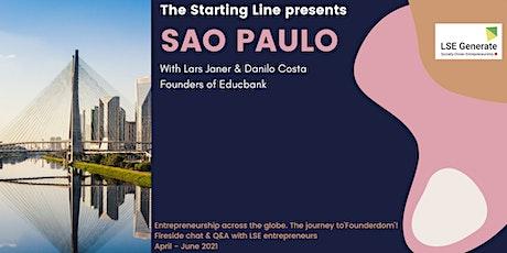 The Starting Line Series -  Lars Janér & Danilo Costa, Sao Paulo ingressos