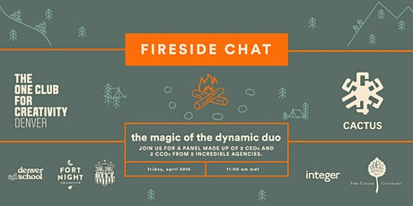 The Magic of the Dynamic Duo, Fireside Chat Speaker Series tickets
