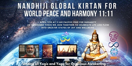 Nandhiji's Global Kirtan for Peace, Harmony & Transformation tickets