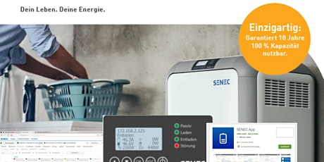 Webinar SENEC.Visualisierung tickets