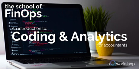 Coding and analytics for accountants tickets