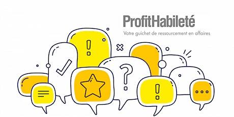 Communiquer efficacement avec ses clients (Atelier en ligne) billets