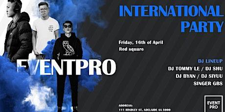EVENTPRO April International Party tickets