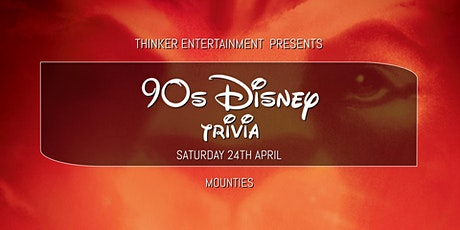 90s Disney Trivia -Mounties tickets