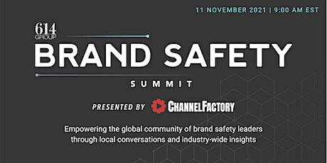 Brand Safety Summit North America in New York tickets