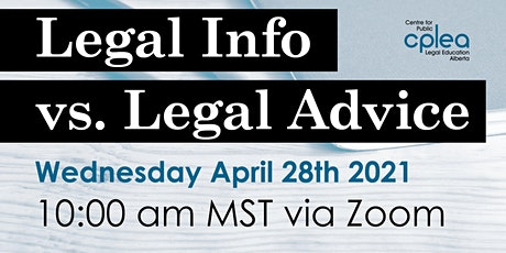 Legal Information vs. Legal Advice tickets