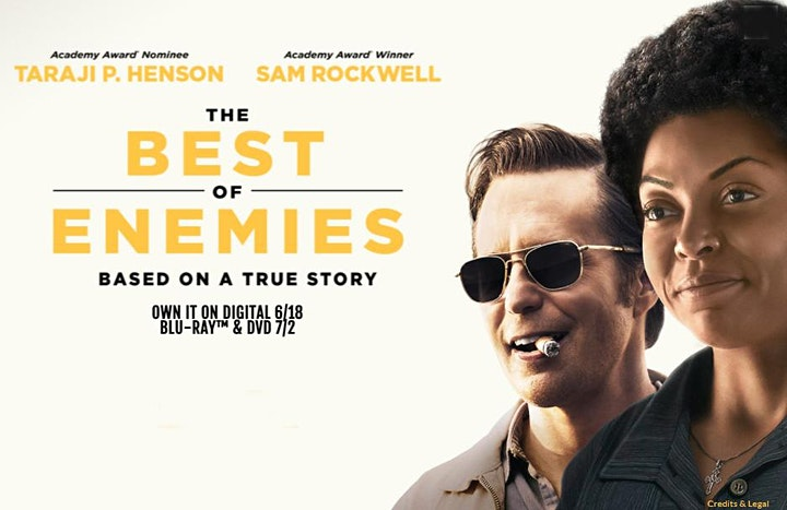 """Film Discussion - Film Discussion of """"The Best of Enemies"""" (BA National) image"""