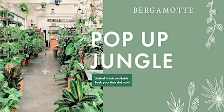 Bergamotte Pop Up Jungle // London tickets