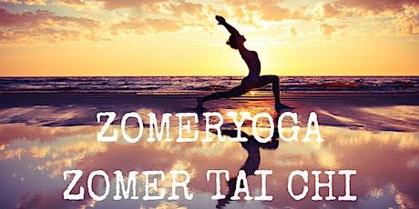 Zomeryoga en zomer Tai Chi 2021 tickets