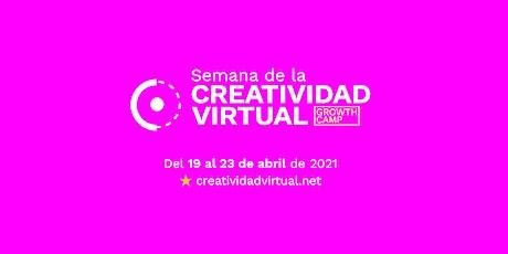 Semana de la Creatividad Virtual entradas