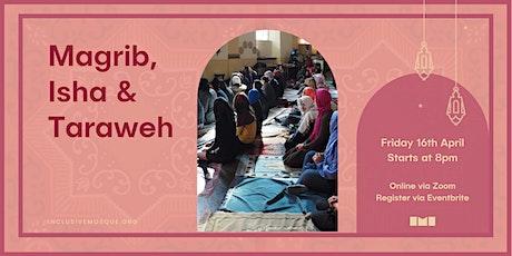 Ramadan 2021: Inclusive Magrib, Isha & Taraweh ingressos