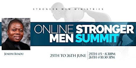 Online Stronger Men Summit tickets
