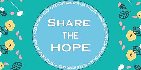 Share the HOPE Virtual Auction tickets
