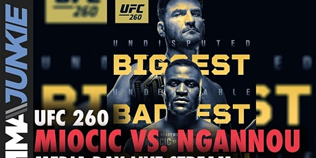 TV/VIVO.-UFC 260 E.n Viv y E.n Directo ver Partido online boletos