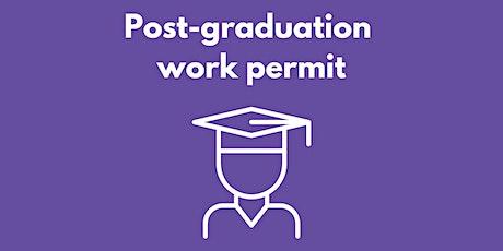 Post-graduation work permit tickets