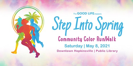 Step Into Spring Community Color Run/Walk 2021 tickets