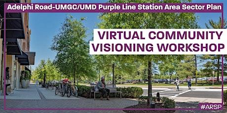 Adelphi Road -  UMGC/UMD Purple Line Station Area Visioning Workshop entradas