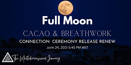 Full Moon Cacao & Breathwork Ceremony Tickets