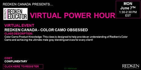 REDKEN CANADA - COLOR CAMO OBSESSED tickets