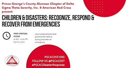 Children & Disasters: Recognize, Respond & Recover from Emergencies tickets
