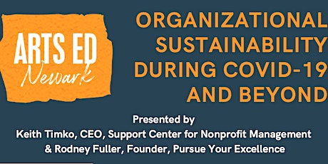 Organizational Sustainability During COVID-19 and Beyond tickets