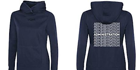 Vente de hoodies (Administration) billets