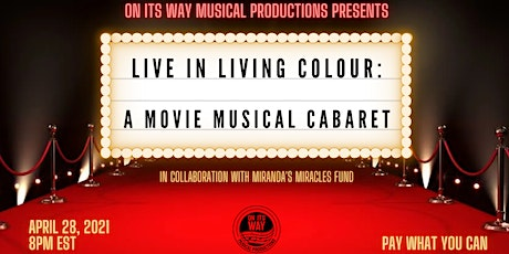 Live In Living Colour: A Movie Musical Cabaret! tickets