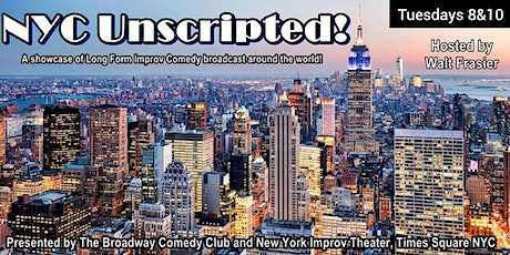 NYC Unscripted Improv Comedy (Indy Team Showcase) tickets