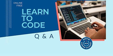 Austin Coding Academy | VIRTUAL Learn to Code Q & A tickets