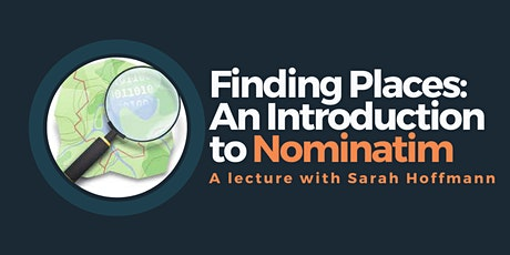 Finding places: an introduction to Nominatim tickets