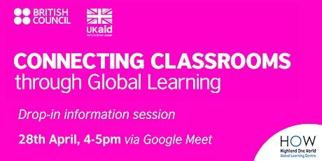 Setting up an Online International  School or Classroom Partnership tickets