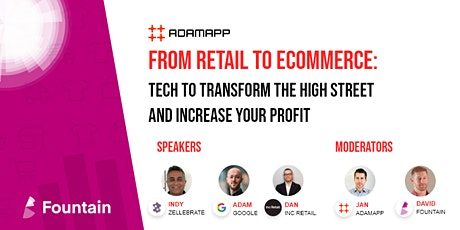 From Retail To Ecommerce: Tech To Transform the High Street tickets