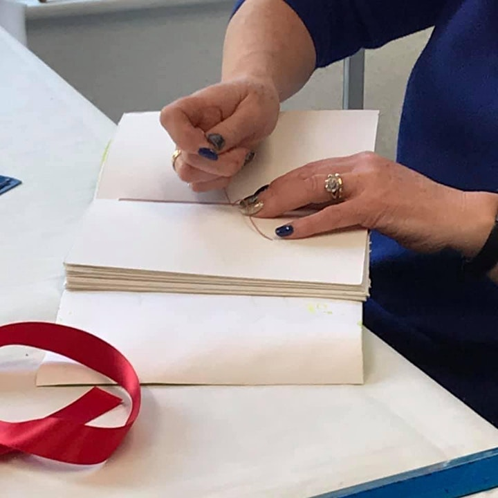 """""""Uniquely Yours"""" soft-cover journal : Bookbinding Workshop image"""
