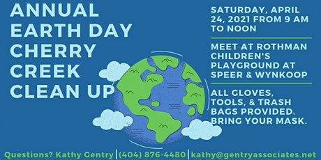 LoDo Cares Earth Day Cherry Creek Clean Up tickets