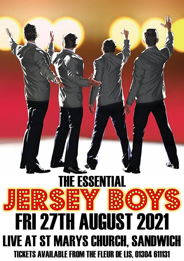 'The Essential Jersey Boys' live at St Marys Church - Sandwich image