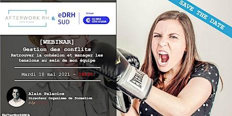 AW RH Côte d'Azur - 18 mai - Gestion des conflits billets