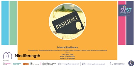 Mental Resilience tickets