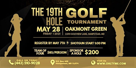 The 19th Hole Golf Tournament tickets