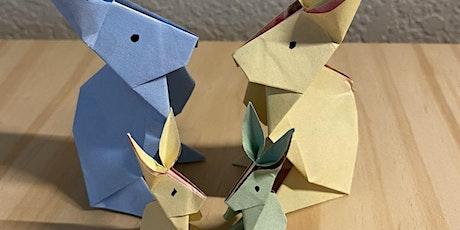 3D rabbit making (English / Mandarin) tickets