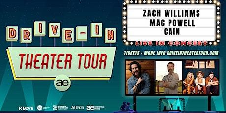 VOLUNTEER - Zach Williams Drive-In / Monroe, LA tickets