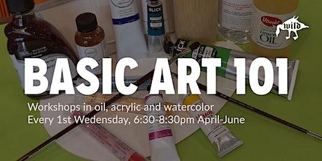 Basic Art 101 Workshops tickets