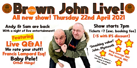 Top Flight Time Machine Presents ALL NEW Brown John Live! Tickets