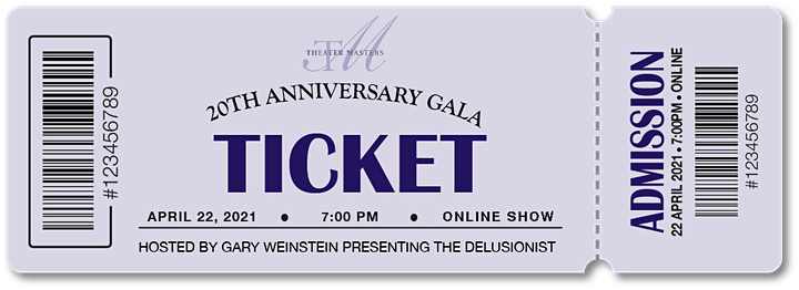 Theater Masters: 20th Anniversary Benefit Gala image
