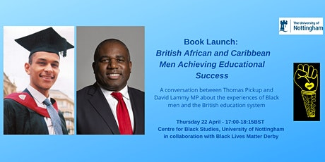 Young British African and Caribbean Men Achieving Educational Success tickets