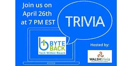 Trivia Night for Byte Back tickets